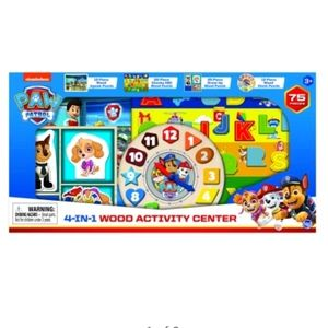 Brand New Sealed PAW PATROL 4 in 1 Activity Center